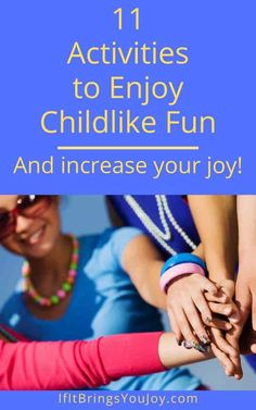 Adults benefit from giggling and playing like children. Scientific benefits of play for adults, plus ideas for activities to release your inner child and have as much fun playing as you did as a child. #innerchild