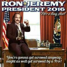 Hvor stor er Ron Jeremys Dick