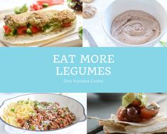 This board is to inspire you to eat more legumes.