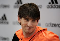 Lionel Messi Photos - Lionel Messi attends a press conference during the  launch of the new adiZero footwear range from adidas on January 2011 in  Barcelona 71749c1a8f500