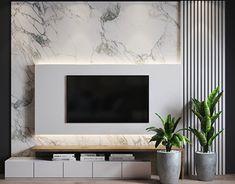 Modern Tv Room, Modern Tv Wall Units, Modern Living, Modern Closet, Minimalist Living, Minimalist Decor, Tv Unit Interior Design, Tv Wall Design, Tv Unit Decor