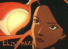 Elisa Maza from Disney's Gargoyles Season 1 episode: Awakening Part 1 Comic Book Characters, Comic Books, Disney Characters, Fictional Characters, Elisa Maza, Tmnt, Season 1, Awakening, Cartoon