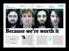 "The Big Issue Scotland - Kassidy - ""Because We're Worth It"" #blacklines #pageheaders #spreads"