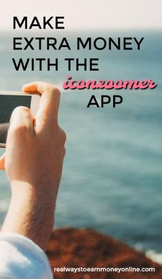 How to make extra money with the Iconzoomer app.