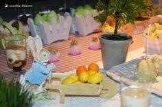 Lima Limão - festas com charme: Batizado Peter Rabbit da Maria!