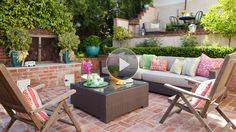 Refresh your outdoor spaces in as little as 10 minutes with these quick, easy, and affordable decorating ideas.