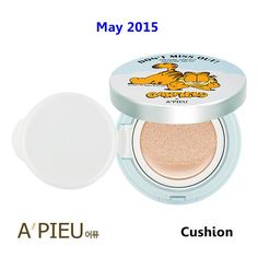 [ A'pieu ] Air Fit A'pieu Cushion Garfield Edition 13.5g(New2015), Korean Best Cosmetics, Free Shipping