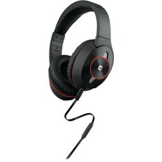 IHOME iB51BRC Active Noise-Canceling Over-Ear Headphones with Microphone