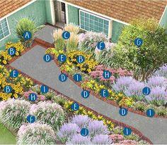 Landscaping front yard midwest drought tolerant 47 trendy Ideas - All For Garden Miscanthus Sinensis Gracillimus, Landscape Plans, Landscape Design, Garden Design, Feather Reed Grass, Knockout Roses, Fountain Grass, Gardens, Exterior Design