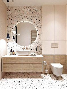 Bathroom Design Luxury, Modern Bathroom Design, Minimal Bathroom, Modern Bathrooms, Toilet And Bathroom Design, Small Bathroom Interior, Modern Bathroom Mirrors, Modern Design, Shiplap Bathroom