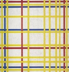 New York City - Piet Mondrian  - 1942
