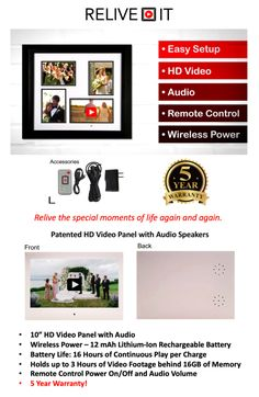RE-LIVE Your Favorite Memories Again and Again! | Indiegogo Audio Speakers, Hd Video, Live For Yourself, Your Favorite, Memories, In This Moment, Memoirs, Souvenirs, Hd Movies
