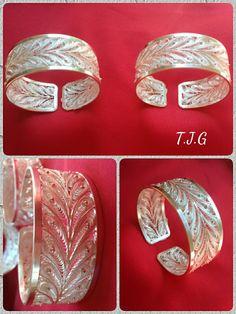 Filigree Jewelry, Gold Rings Jewelry, Silver Filigree, Dainty Jewelry, Metal Jewelry, Jewelery, Silver Rings, Silver Wedding Bands, Filigree Design