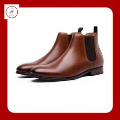 It's a classic, they've been around since forever and they'll always be.  A must have for whoever follows the trends of the year!  Totally handmade shoes with genuine cow leather. Cow Leather, Chelsea Boots, Men's Shoes, Trends, Classic, Handmade, Fashion, Derby, Moda