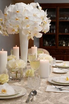Flower Arranging Ideas: Bridal Shower