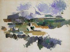 Paul Cézanne - Mont Sainte-Victoire, vue de la colline des Lauves, 1902-1906
