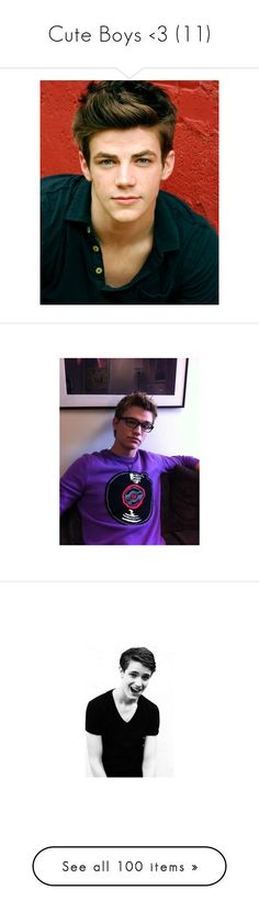 """""""Cute Boys <3 (11)"""" by smileyishere92 ❤ liked on Polyvore featuring 10, grant gustin, boys, guys, people, hair, one direction, niall horan, niall and nialler"""