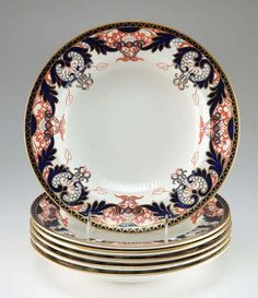 Imari Dish Royal Derby Japanese porcelain bowl by VintagebyViola, $48.00