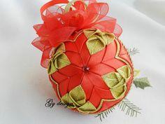 Ornamento di Natale oro petali trapuntato ornamento idee regalo Natale decorazioni albero di Natale Natale baubles ornamenti di regalo natalizio per eccellenza