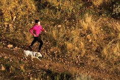 """From the Experts: """"Why I Trail Run with my Dog"""" - inspiration to get out there and get running! Get Running, How To Start Running, Trail Running, Training For A 10k, Dog Training, Run With Me, Two Dogs, Amazing Adventures, What Is Like"""