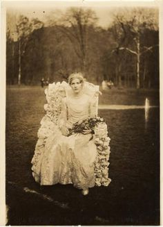 May Queen 1929 :: Archives & Special Collections Digital Images #beltane #may day