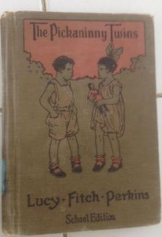 The-Pickaninny-Twins-Perkins-Lucy-Fitch-Black-Americana-School-Edition-1931
