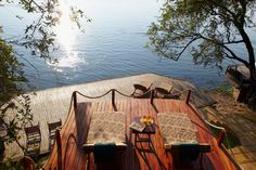 Tongabezi Lodge - private Strandliegen