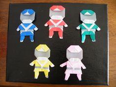 origami power rangers