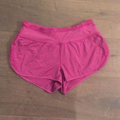 Pink Camo Lululemon Shorts Size 6 with subtle camo prints lululemon athletica Shorts