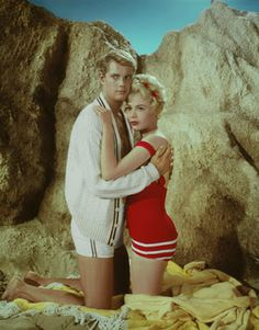 """Vintage Glamour Girls: Sandra Dee & Troy Donahue in """" A Summer Place """""""