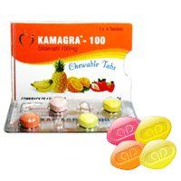 #Kamagra Soft Tabs mit dem Wirkstoff #Sildenafil 100 mg sind Kautabletten mit 4 Gechmacksrichtungen: Orange, Ananas, Erdbeere, Banane. Kamagra Soft eignet sich gut für Patienten mit Schluckproblemen.