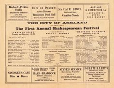 Happy birthday to OSF! The Oregon Shakespeare Festival was born July Happy 80th Birthday, Shakespeare Festival, Twelfth Night, Oregon, Theatre, Twitter, Life, Theatres, Theater