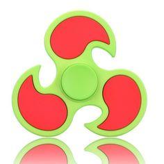 7 color Matte Hot Wheels Tri-Spinner EDC Plastic Fidget Spinner