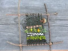 Stick weaving...woul