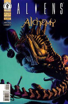 Aliens Alchemy Cover by Richard Corben