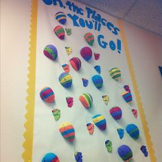 Would be great at beginning of year with students' names on balloons.