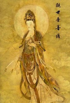 The bodhisattva of compassion who hears all the cries in the world.