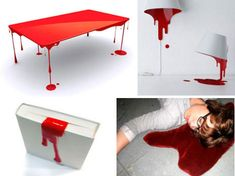 Bloody Brilliant: 10 Blood-Themed Domestic Design Ideas