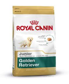 GOLDEN RETRIEVER JUNIOR wurde speziell für #Golden #Retriever - #Welpen bis zum 15. Monat entwickelt. Ein hoher Gehalt an Borretschöl und Biotin stärkt das Fell und ein spezieller Antioxidanzienkomplex (Taurin, Lutein, Vitamin C und E) stärkt die Barrierefunktion der Haut. http://www.royal-canin.de/hund/produkte/im-fachhandel/nahrung-fuer-rassehunde/heranwachsende-rassehunde/golden-retriever-junior/