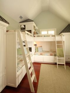 Bunk Rooms :: Herlong & Associates :: Coastal Architects, Charleston, South Carolina