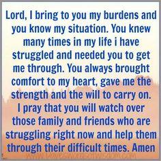 Prayer for Family & Friends