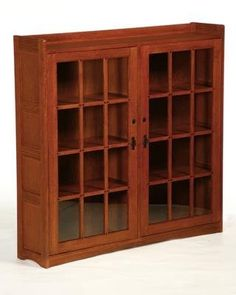 Arts And Crafts Mission Double Door Bookcase By Arts And Crafts, Http://