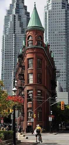 Do you know Where in Toronto can you find this building?// Flat-iron building in Toronto, Canada - by Alex Me Places Around The World, The Places Youll Go, Places To See, Around The Worlds, Ottawa, Ontario, Beautiful World, Beautiful Places, Amazing Places