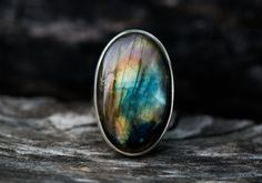 Hey, I found this really awesome Etsy listing at https://www.etsy.com/listing/306443386/labradorite-ring-size-9-multicolor-firey