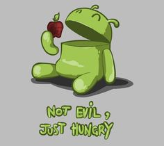 #Android not evil