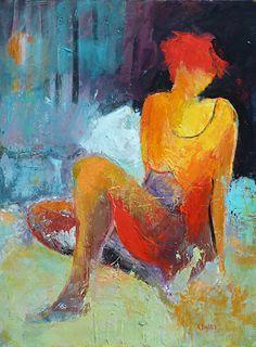 Still Life by Cheryl Waale Acrylic ~ 24 x 18