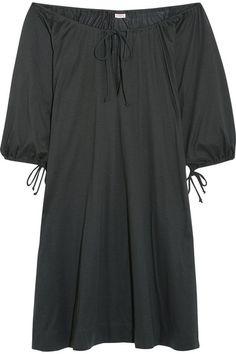 Eres   Zephyr Mimsy off-the-shoulder cotton-jersey dress   NET-A-PORTER.COM