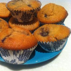 Recipe Blueberry Muffins by Melinda Hutchison - Group Leader - Recipe of category Baking - sweet
