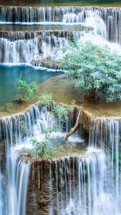 Amazing Nature Waterfall is part of Beautiful places - Amazing Nature Waterfall Beautiful Waterfalls, Beautiful Landscapes, Natural Waterfalls, Places To Travel, Places To See, Travel Destinations, Landscape Photography, Nature Photography, Travel Photography
