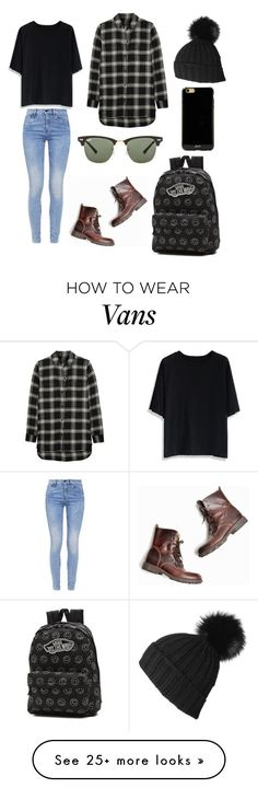 """Untitled #217"" by kaylee10-i on Polyvore featuring Chicwish, G-Star, Madewell, Vans, Ray-Ban and Sonix"